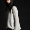 Paychi Guh | Dreamy Reversible Pullover, Mist Tonal, 100% Dreamy Cashmere