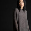 Paychi Guh   Dreamy Reversible Pullover, Musk/Chocolate, 100% Dreamy Cashmere