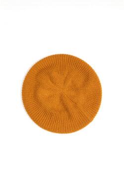 Paychi Guh | Beret, Gold, 100% Cashmere