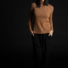 Paychi Guh | Cozy Luxe Funnel, Camel, 100% Baby Cashmere