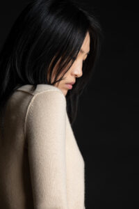 Paychi Guh | Cozy Luxe Crew, Butter, 100% Baby Cashmere